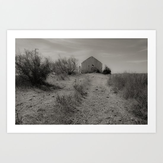 The house of Fear Art Print