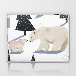 Polar Bear Christmas Laptop & iPad Skin