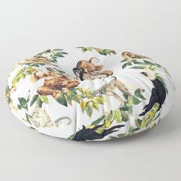 Monkeys, orangutans and more Floor Pillow