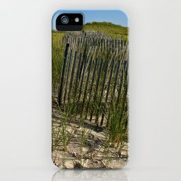 Cape Cod Beach Dunes iPhone Case
