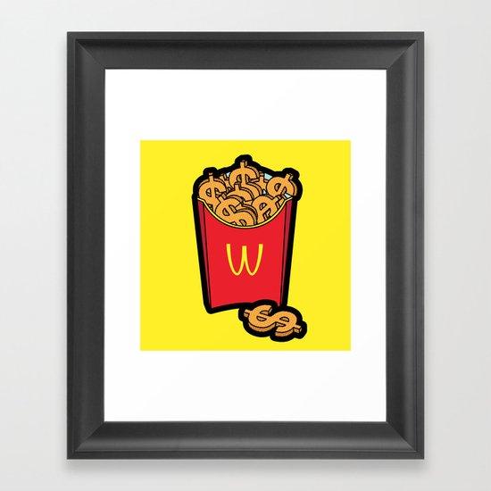 Pop Icon - Warhol Framed Art Print
