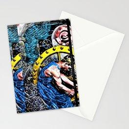'Company Man' Satirical Portrait by Jeanpaul Ferro Stationery Cards