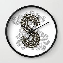Color Me S Wall Clock