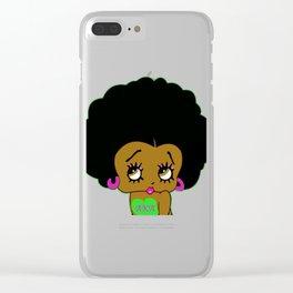 AKA Betty Boop Clear iPhone Case