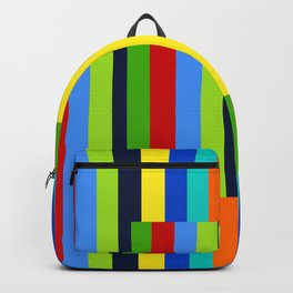 Waking In A Rainbow no.42 Backpack