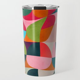 shapes spring colors Travel Mug