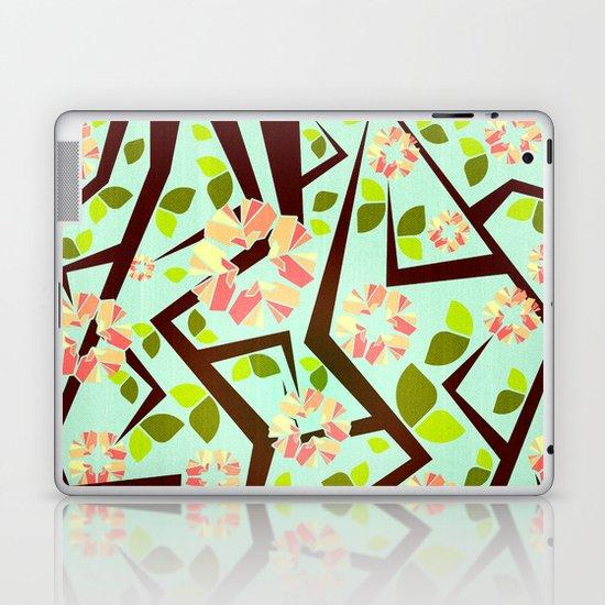 Blooming Trees Pattern III Laptop & iPad Skin