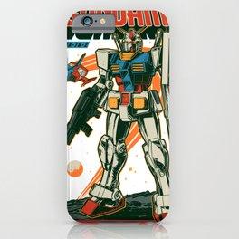 RX 78-2 Gundam Retro iPhone Case