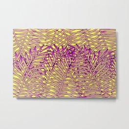 Neon Tropic Metal Print