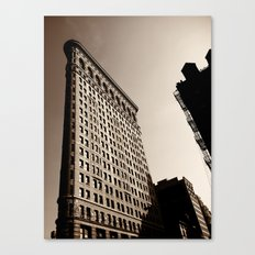 New York City Flatiron Canvas Print