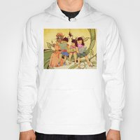 fairy tale Hoodies featuring Fairy Tale by Radical Ink by JP Valderrama