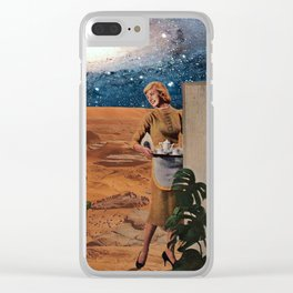 Love in Mars Clear iPhone Case