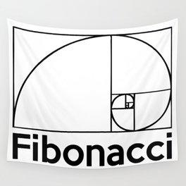 Fibonacci Spiral Wall Tapestry