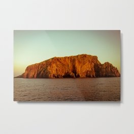 Mediterranean Island Metal Print