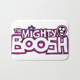 Mighty Boosh Logo, Colourful, Funky, Funny Bath Mat