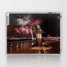Fireworks at Swansea SA1 Laptop & iPad Skin
