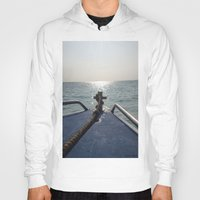 thailand Hoodies featuring Thailand Boatride by Plutonian Oatmeal