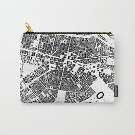 Sofia Graphic Map Carry-All Pouch