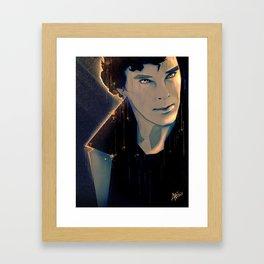 Think Framed Art Print