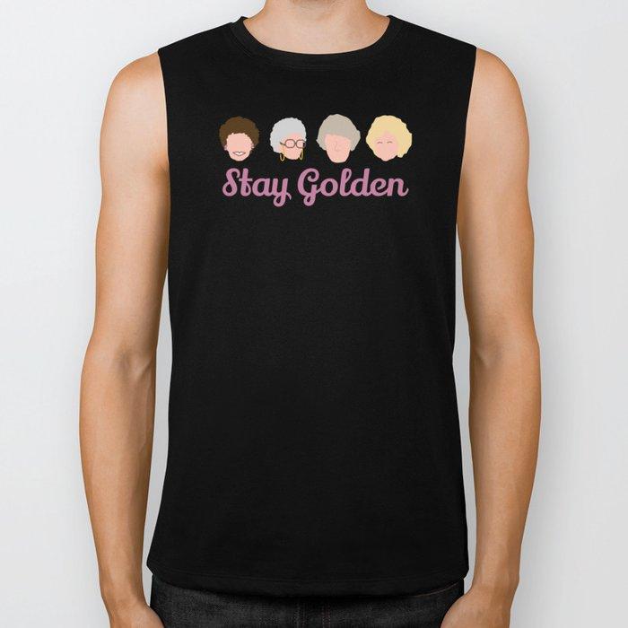 Stay Golden  (Golden Girls Inspired) Biker Tank