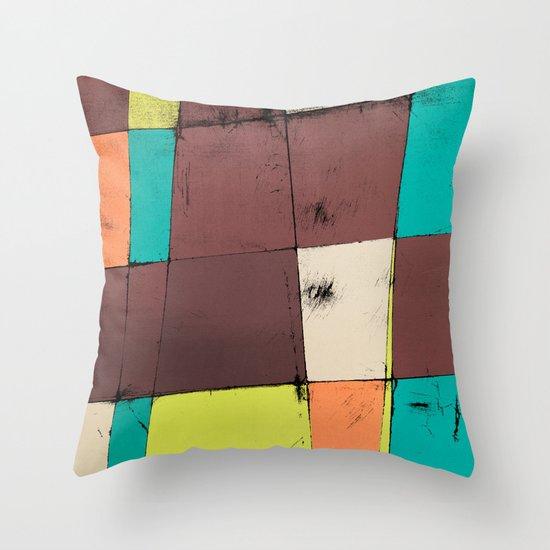 Hot Air Balloon II Throw Pillow