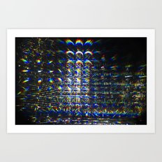 Reflection of a Reflection of a Reflection Art Print