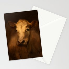 Cow 25 Stationery Cards