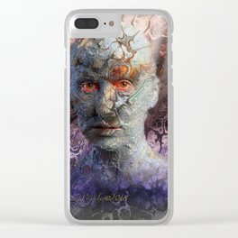 Turbulence II Clear iPhone Case
