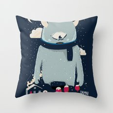 DAMN Throw Pillow
