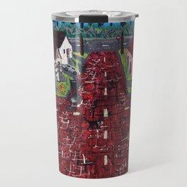 Red Brick Crossroads Travel Mug