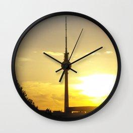 Berlin Sunset Wall Clock
