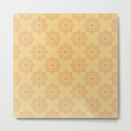 Octogonal Star Metal Print