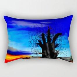 Lonely baobab ... Rectangular Pillow