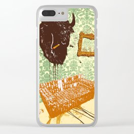 THE LIVING ROOM Clear iPhone Case