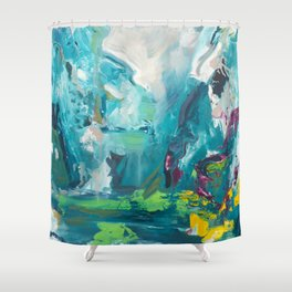 Temple of Sinawava Shower Curtain