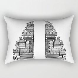 Bali Gate to Paradise Rectangular Pillow