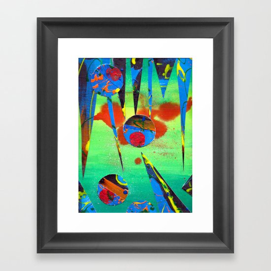 brion Framed Art Print