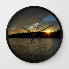 so let the light shine!  Wall Clock