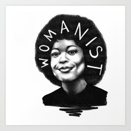 Alice Walker Art Print