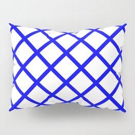 Criss-Cross (Blue & White Pattern) Pillow Sham