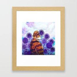 Sunflower Sanctuary Framed Art Print