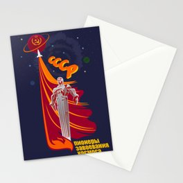 Soviet Propaganda. Pioneers Stationery Cards