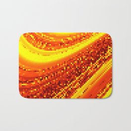 square field on Bath Mat