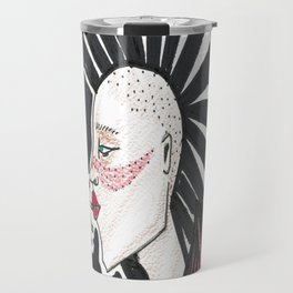 The punk rocker Travel Mug