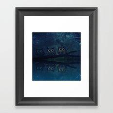 owl-84 Framed Art Print