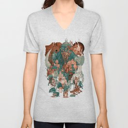 Dark Souls Gang Unisex V-Neck