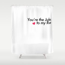Jules and Rue Young Love Shower Curtain
