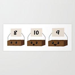 Brownie Points Art Print