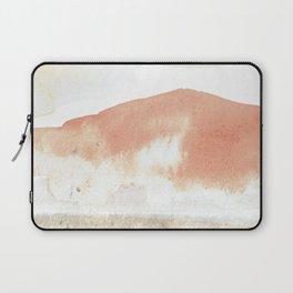 Terra Cotta Hills Abstract Landsape Laptop Sleeve
