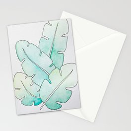 Tropical Watercolors Stationery Cards